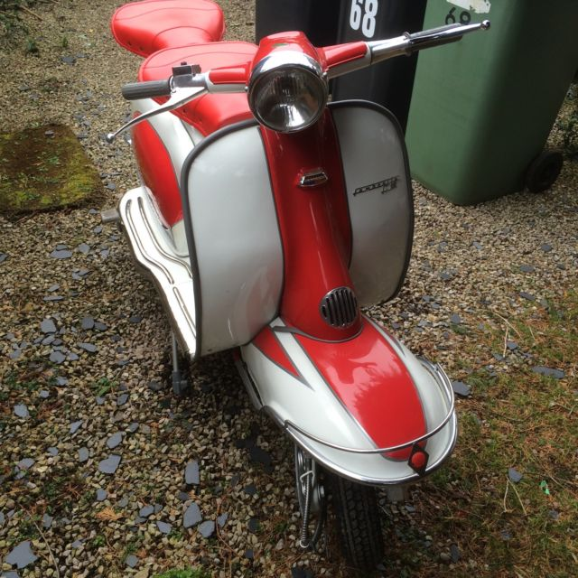 Lambretta Li150 series 2 (registered as a Li 125 cc)