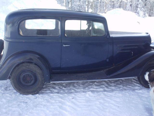 1934 Chevy 2 door master sedan
