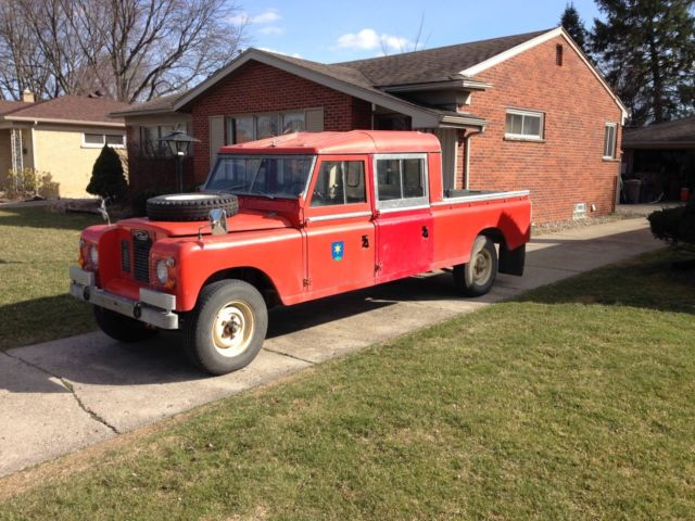 1972 Custom LAND ROVER Defender Diesel - Must See!
