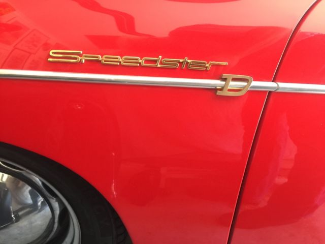 """Porsche 356 Convertible D  """"Speedster D"""""""
