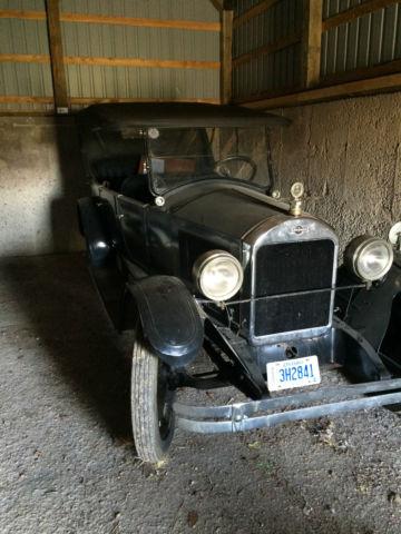 1923 Gardner 4 door open car, barn find