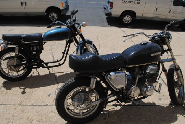 TWO HONDA CB750 CB 750 CAFE PROJECTS ALL ONE PRICE IN N.J. BUY NOW