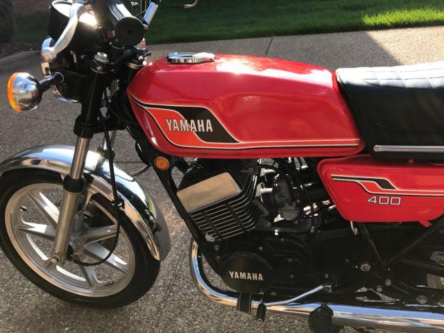 1977 Yamaha RD400 RD 400 2 Stroke - Vintage, Original Excellent Condition