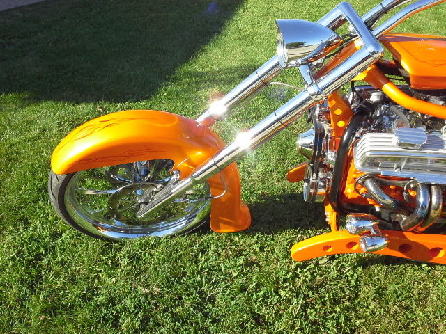 Custom Built Hot Rod V8 Trike 1934 style body, not Rat Rod Harley V twin