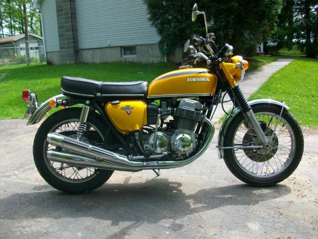Restored 1971 CB 750 K1