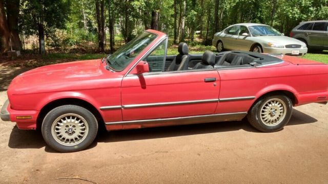 1988 BMW 325I CONVERTIBLE, Project car, collectable, restorable or driver as is