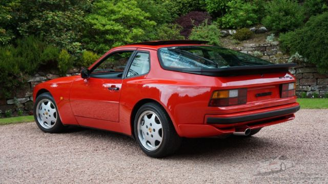 1990 PORSCHE 944 S2 COUPE 3.0 GUARDS RED - MUST SEE CONDITION