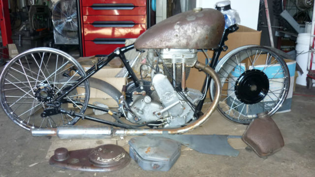 MATCHLESS 350 1949 UNFINISHED PROJECT SEE@ BENDIGO SWAP