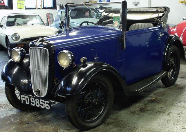 Austin 7 Opal Tourer 1935