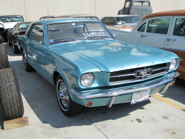 1964 1/2 FORD MUSTANG COUPE 260 V8