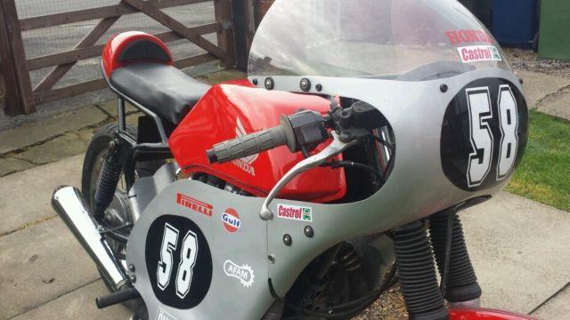 Honda GP racer/cafe racer.