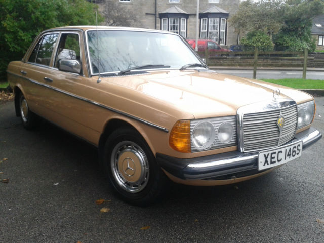 1977 mercedes benz 200 w123 diesel only 81 500 miles for Mercedes benz w123 for sale