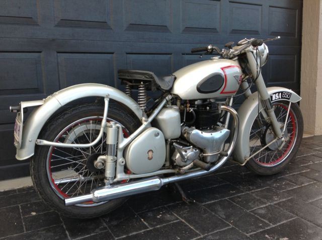 1951 BSA Golden Flash