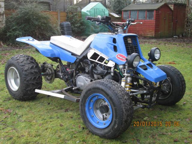 Yamaha banshee 350cc bored and stroked 420cc rapter quad