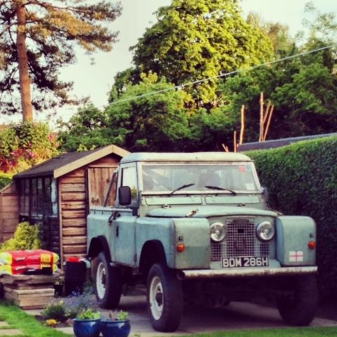 Land Rover Series 2a pick up. Coil springs. Range rover classic. MOT, tax exempt