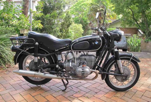 1962 bmw r60/2 motorcycle. one owner since 1972 for sale greenwich