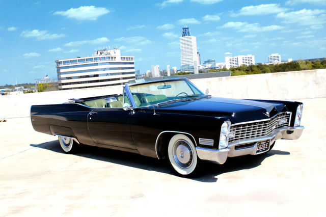 1967 Cadillac DeVille 2 Door Coupe For Sale Houston, Texas, United