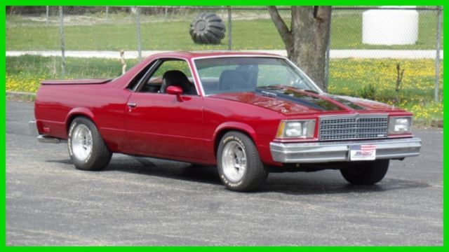 1979 Chevrolet El Camino CANDY APPLE RED SHOW CAR