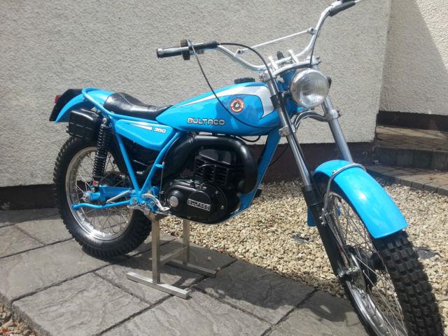 Bultaco Sherpa T 350cc Model 199b 1979