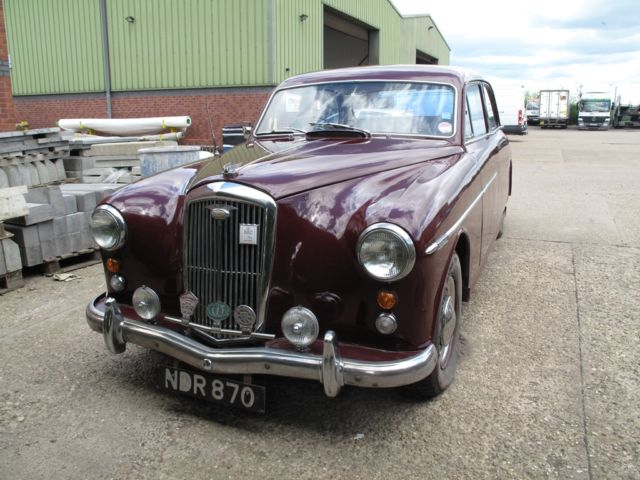 1958 WOLSELEY 6/90 - A MODEL RARELY AVAILABLE, LOW MILES, LOVELY LUXURY CRUISER