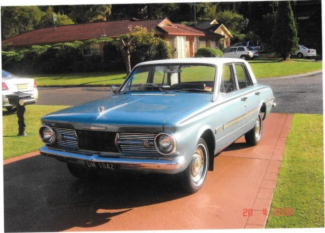 Chrysler Valiant (1966) 4D Sedan Automatic (3.7L - Carb) 5 Seats