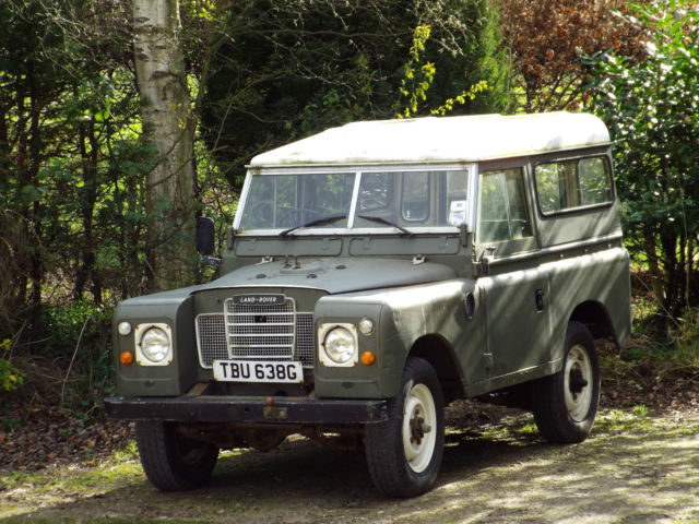 "1969 Land Rover Series 2A 88"" Station Wagon"