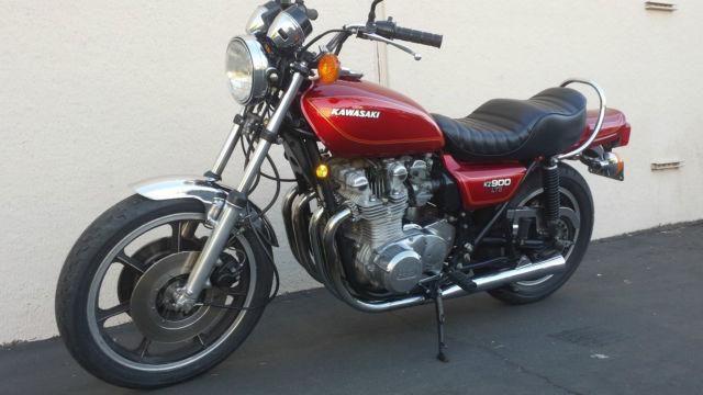 1976 Kawasaki KZ900