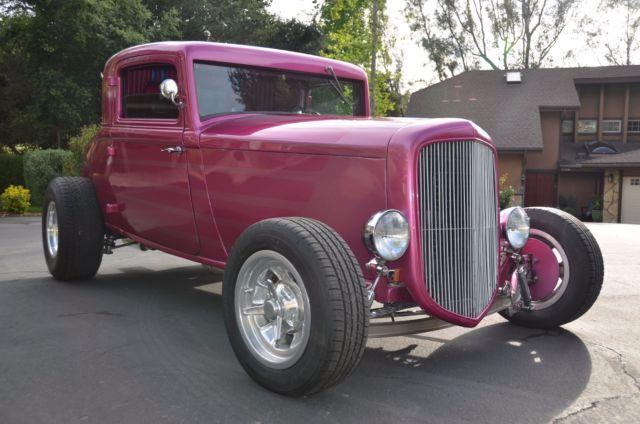 1932 Plymouth PB 3-Window Highboy Street Rod - All Steel