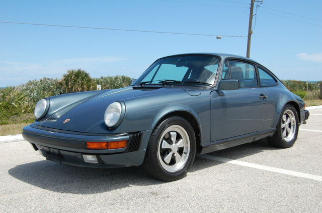 1987 Porsche 911 Carrera Coupe G50 3.4L Engine Rebuild Fuchs Rims Fully Serviced