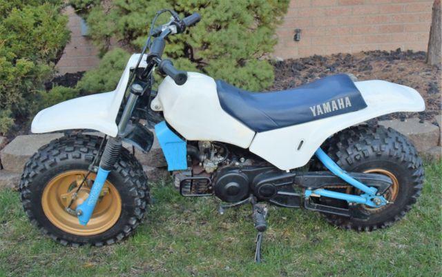 1987 Yamaha BW 80 BW80 Fat Cat Big Wheel Motorcycle Mini Bike