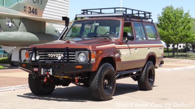 1984 Toyota Land Cruiser Base Sport Utility 4-Door 4.0L
