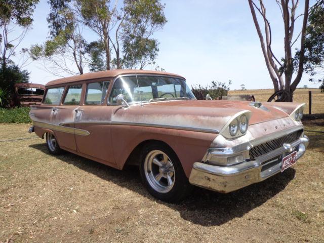 1958 Ford Country-Sedan Rare Stationwagon V8 Auto Classic Custom Original