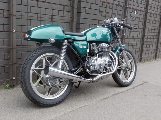 1976 HONDA 400 Four CAFE RACER (relisting as I had 2 time wasters)