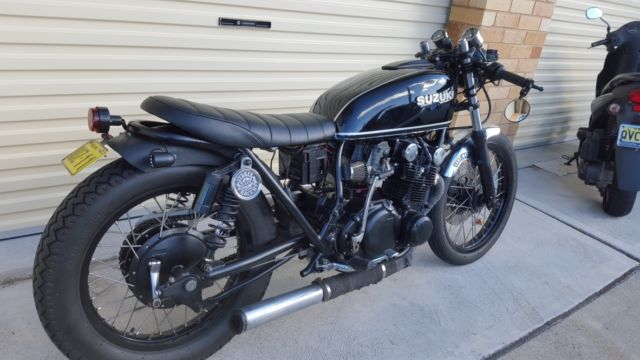 GS550 SUZUKI cafe racer brat style For Sale Bronte, NSW