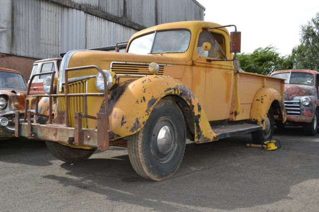1941 Ford 1 ton pickup project, UK registered