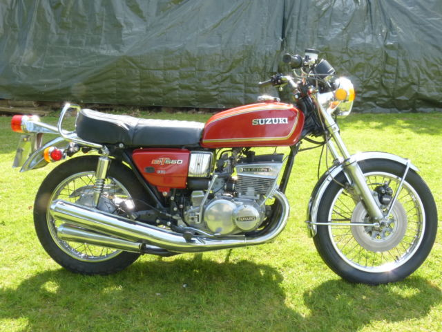 Suzuki GT550 A 1976 PX Possible Harley