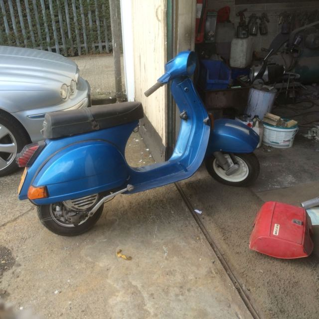 VESPA DOUGLAS 125 PROJECT SPARES AND REPAIRS
