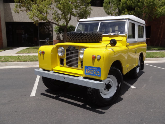 "1962 LAND ROVER SERIES IIA 88"", COLLECTORS ITEM, ONE OF A KIND.(Video included)"
