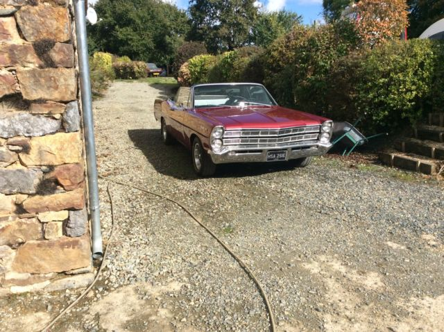 Ford galaxie 500 convertable