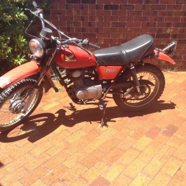 Honda xl100 1977