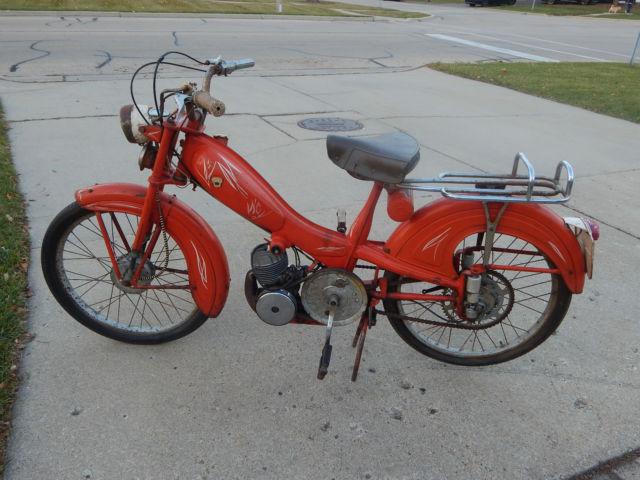 1956 Motobecane Mobylette AV78 Moped First year rare model