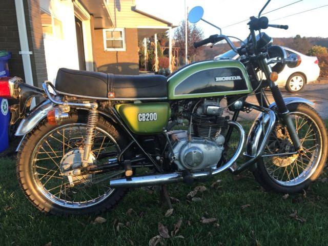 1974 Honda CB200