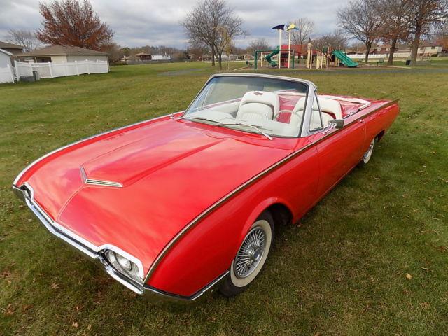 1962 ford Thunderbird Roadster / Roadster Kit / California Car / Original engine