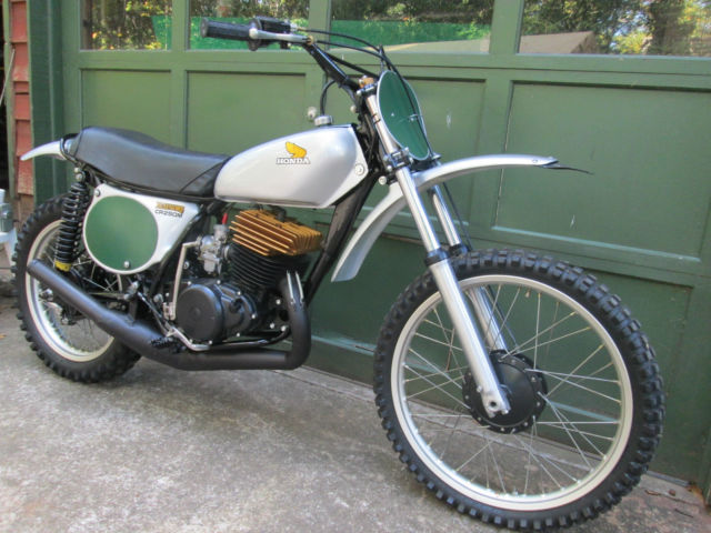 1973 Honda Elsinore CR 250 M Fully Restored with DG Racer Head and Pipe Upgrades