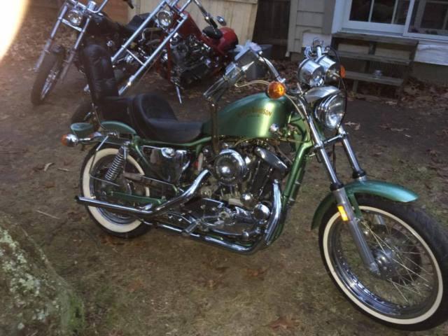 1984 Harley Davidson sportster THE CLEANEST ON EBAY CUSTOM PAINT TONS OF CHROME