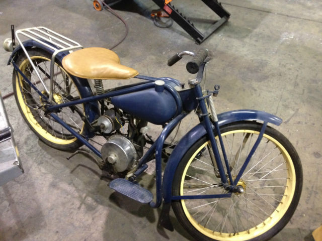 1949 Simplex-Servi Cycle