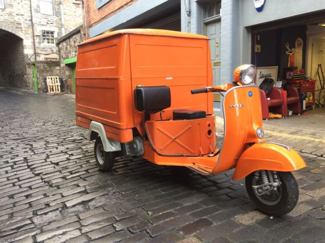 Piaggio Vespa Car 1975 125cc Coffee Cart Business Ape