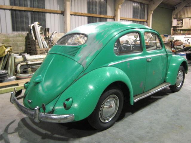1955 VW Oval beetle. Early model. Great project. UK Registered.