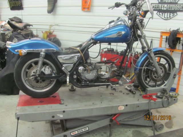 1985 FXRS roller 1HD1 vin # clear title  stock roller MUST SEE LQQK  low reserve