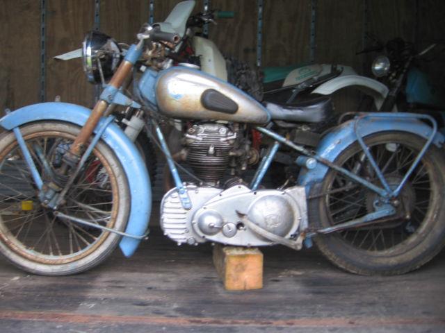 rare vintage  barn find NSU  251  osl  motorcycle